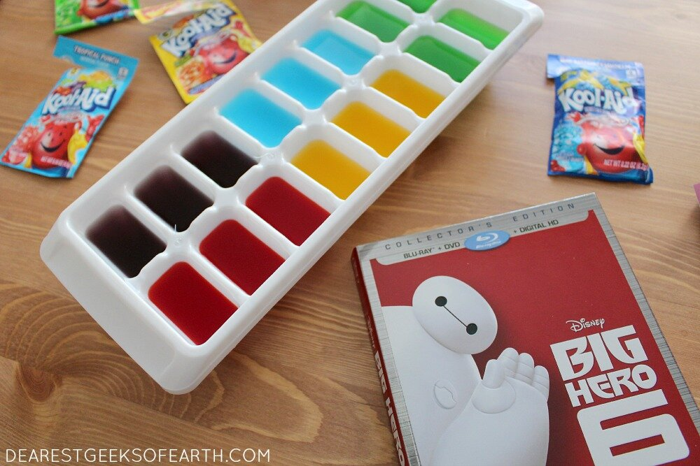 Fist bump-worthy treats for your next 'Big Hero 6' family movie night. | Dearest Geeks of Earth